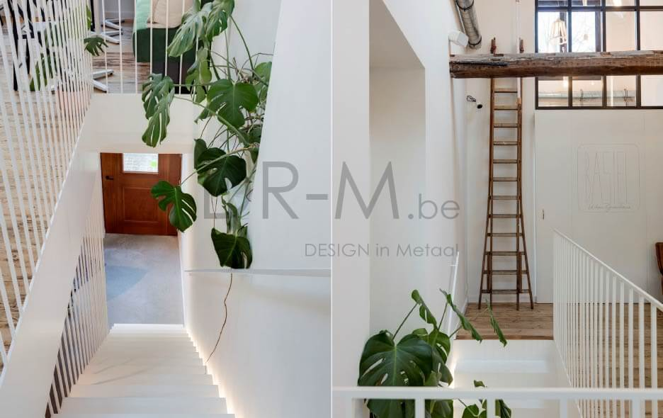 Designtrap Metaal; Interieurdesign; interior metal stair